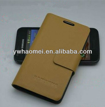 Genuine leather kraft paper western cell phone cases