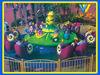 Amusement center snail agent attraction park decoration