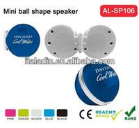 Promotional mini portable speaker/speaker for promotion/novel speaker OEM factory