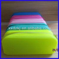 wholesale environmental student silicone pencil box