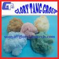 Regenerada fibra de poliéster, de diferentes colores