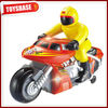 Plastic motorcycle assembly toys