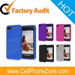 Solid Color Design Silicone Case For BlackBerry Z10