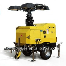 18kva ligthing tower diesel genset which support power for emergency needed