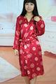 venta al por mayor de satén kimono de seda ropa de dormir pijamas de satén chino