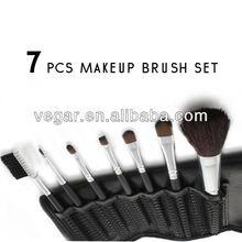 7 pcs Portable Makeup Brush Kit Makeup Brushes convenient cosmetic brush set