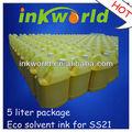 La bandera/pvc/de vinilo de tinta eco solvente para mutoh 8000/vj1204/vj1604/vj2606 conimpresora epson dx5 cabezal de laimpresora