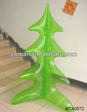 PVC plastic inflatable christmas tree