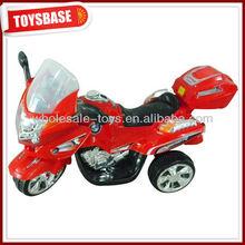 Ride on plastic toy motorbike