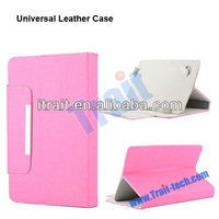 Best selling Universal Leather Case 7 inch 8 inch 9inch 10 inch tablet pc