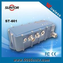 5-10km fiber optic video transmitter receiver