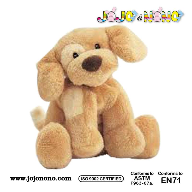 soft stuffed plush custom cute cheap battery operated dog toys