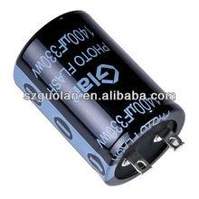Professional Capacitor Manfuacturer Glan 180V 820UF 1000UF 1800UF 2200UF 200V 150UF 220UF 270UF 330UF Electrolytic Capacitor
