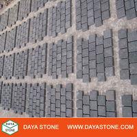 Outdoor granite cobbles stone mat