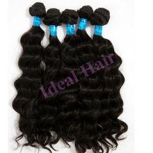 aaaa grade soft, natural color brazilian remy human hair