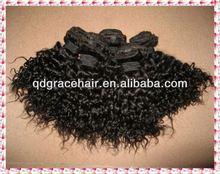 High quality natural virgin fashion Peruvian tight deep curly