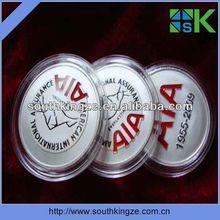 2012 fashion metal pin badge/brass badge