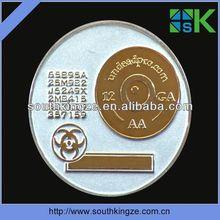 etching brass badge/emblem/pin