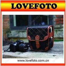 New Retro Fashion SLR Sling Shoulder Camera Case Bag