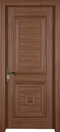 Elegant Modern Wooden Main Door Design Solid Wood Door Eviar Panel