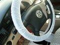 desechables de dirección del coche cubierta de la rueda con elástico