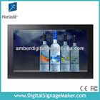"19"" flexible wall dvd touch screen player shelf /supermarket lcd advertising touch screen"