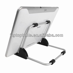 Aluminum metal adjustable stand holder for ipad