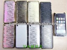 Chrome Leather Hard Case for iphone 3G 3GS