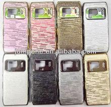 Chrome Leather Hard Case for Nokia N8