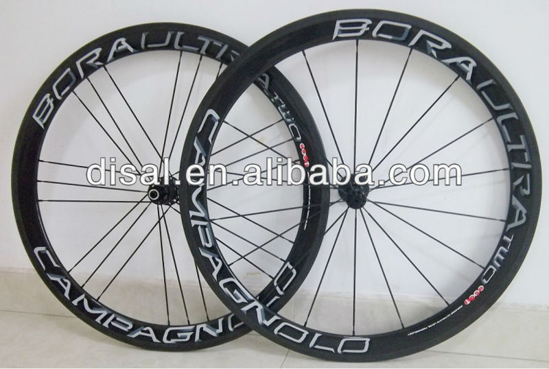 NEW!!Carbon fiber Bora G3 wheels/carbon bicycle wheel with Bora decals/G3 bicycle wheels/carbon  ...