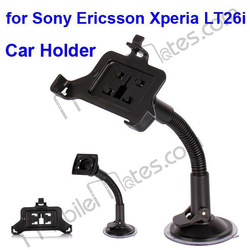 New Arrival 360 Degree Car Holder for Sony Ericsson Xperia LT26i