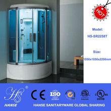 Itlian solid surface bathroom bathtub infrared sauna steam room HS-SR2258T