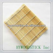 bamboo white sushi rolling mat without green skin