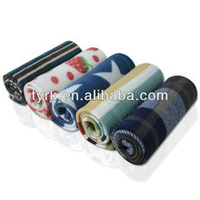 2015 printed comfortable cheap polyester new design fleece blanket made in china