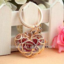 Rhinestone Heart handbags charms SK620