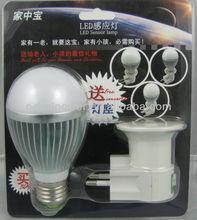 Motion sensor LED bulb
