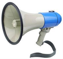 Ut-55s 25 watt, mégaphone avec batterie 12v haut parleur extérieur