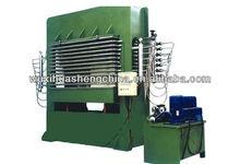 plywood machine hot press machine