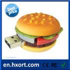 Promotional GIft USB Memory Stick, Novelty PVC USB Disk,4GB Hamburger USB Flash Drive