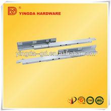 YD-HG307 full extension bottom mount push to open drawer slides from drawer slides factory