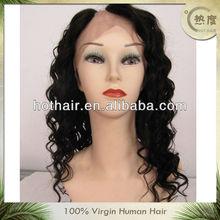 "Hot hair,Size 12""-20"" brazilian human hair u part full lace wig"