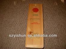 1999 - Grace Family - Wooden Wine Box - Crate - Empty Wine Bottle