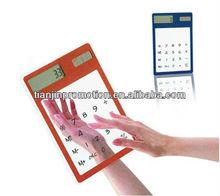 plastic transparent calculator