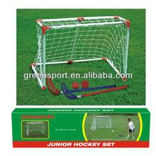 Junior Hockey,Hockey Goal with Hockey Sticks/Ball/Slider