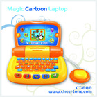 The hot selling mini cartoon learning machine kids computer
