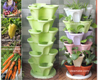 Flower Planter Tower Vertical Garden Supplies AS SEEN ON TV