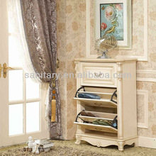 European design good quality five layer MDF shoe cabinet