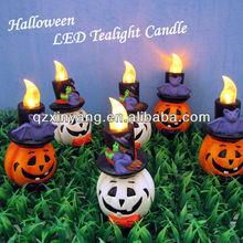 Halloween Pumpkin New Gesign Candle