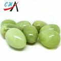 Venta al por mayor perforados natural de jade de huevo/vagina de jade de huevo ejercicios