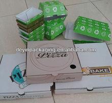 Hamburger and Pizza Box